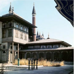 Istanbul - Babü's-saade, Topkapı Palace, 1954, Color Photograph, Printed 2018