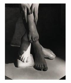 Barefoot Beauty NY, Small Silver Gelatin print