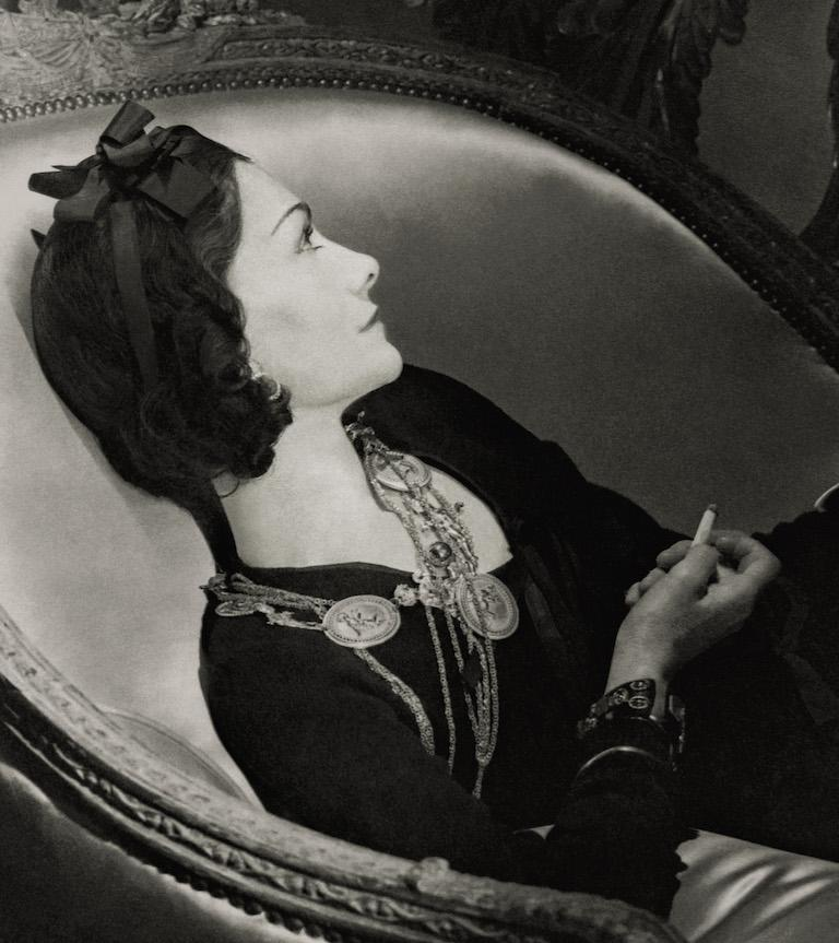 Classics - Coco Chanel, 1937 - Photograph by Horst P. Horst