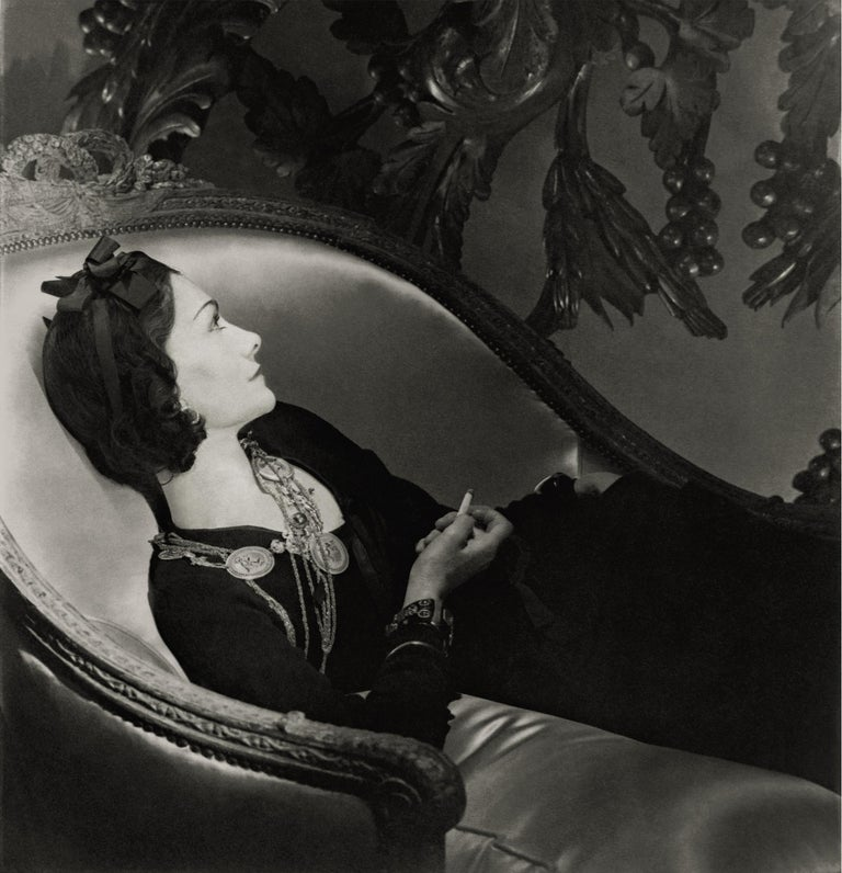 Horst P. Horst Black and White Photograph -  Classics - Coco Chanel, 1937, Small