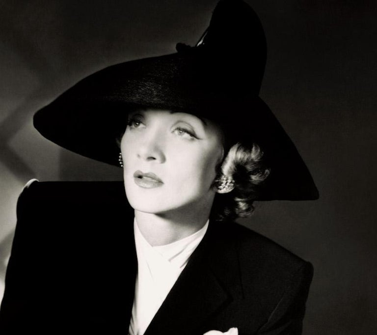 Classics - Marlene Dietrich, 1942 II, Large - Photograph by Horst P. Horst