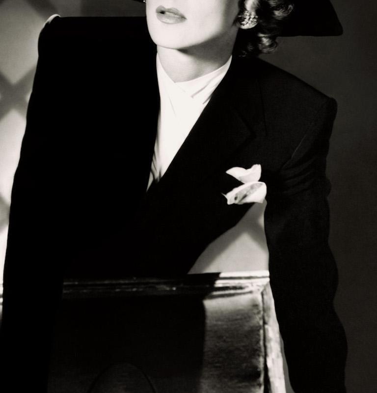 Classics - Marlene Dietrich, 1942 II, Large - Modern Photograph by Horst P. Horst