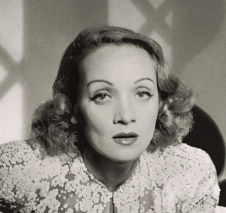 Classics - Marlene Dietrich, 1942, Large - Photograph by Horst P. Horst
