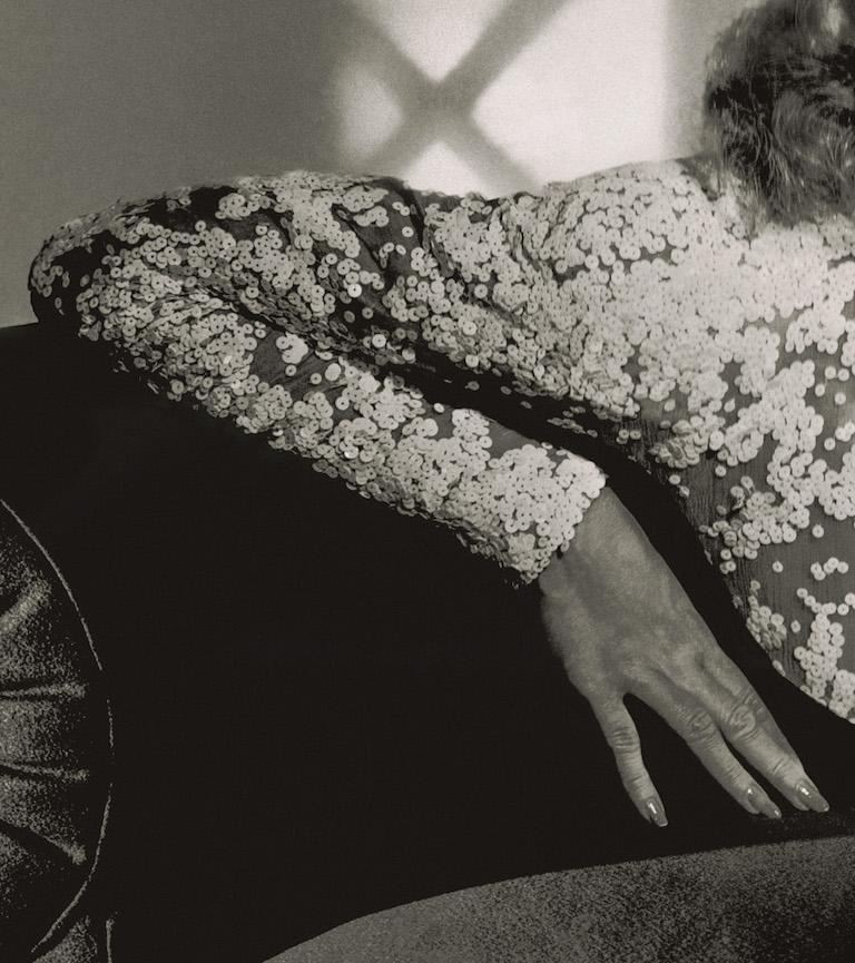 Classics - Marlene Dietrich, 1942, Large - Modern Photograph by Horst P. Horst