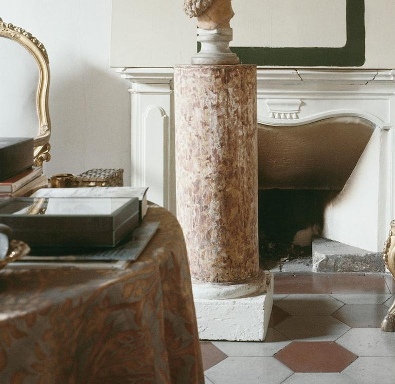Cy Twombly in Rome 1966 - Untitled #12, Extra Large Archival Pigment Print - Contemporary Photograph by Horst P. Horst