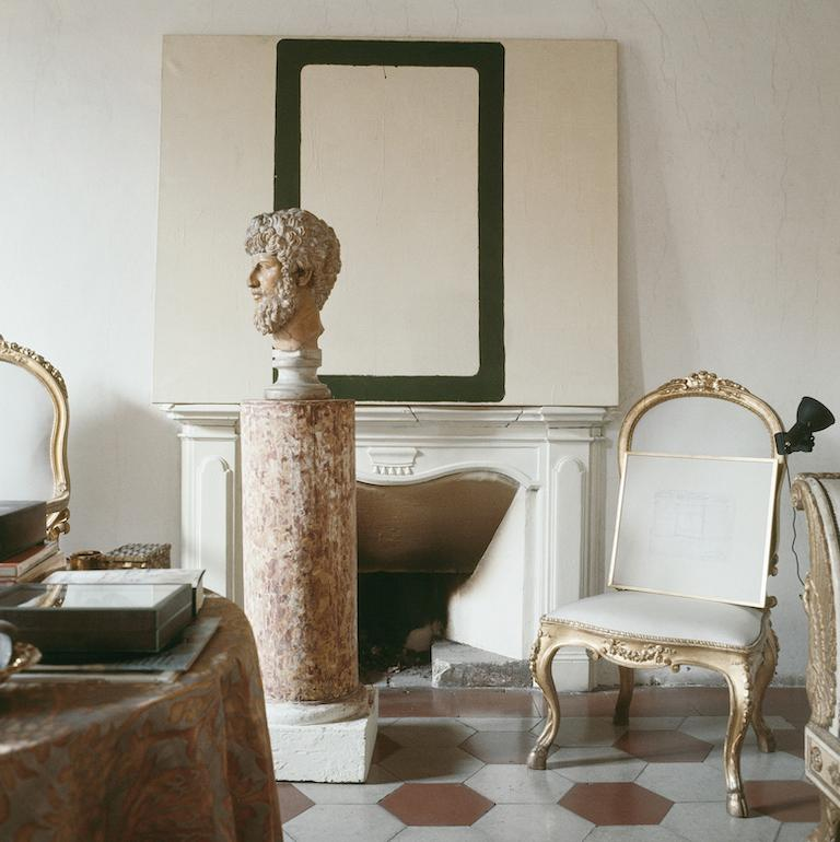 Horst P. Horst Color Photograph - Cy Twombly in Rome 1966 - Untitled #12, Extra Large Archival Pigment Print