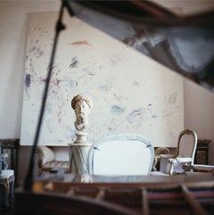 Cy Twombly in Rome - 1966, Untitled #14,  Color Photograph