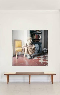 Cy Twombly in Rome - Untitled #29,  1966, Extra Large Color Photograph