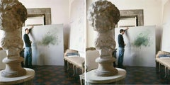 Cy Twombly in Rome 1966 - Untitled #30 and Untitled #24, Set