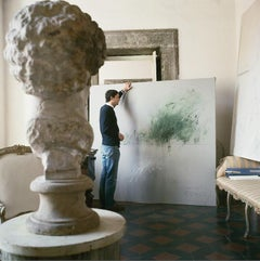 Cy Twombly in Rome 1966 - Untitled #30, Medium Archival Pigment Print