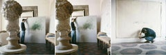 Cy Twombly in Rome 1966 - Untitled #30, Untitled #24, and Untitled #15, Triptych