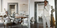 Cy Twombly in Rome 1966 - Untitled #4 and Untitled #11, Set