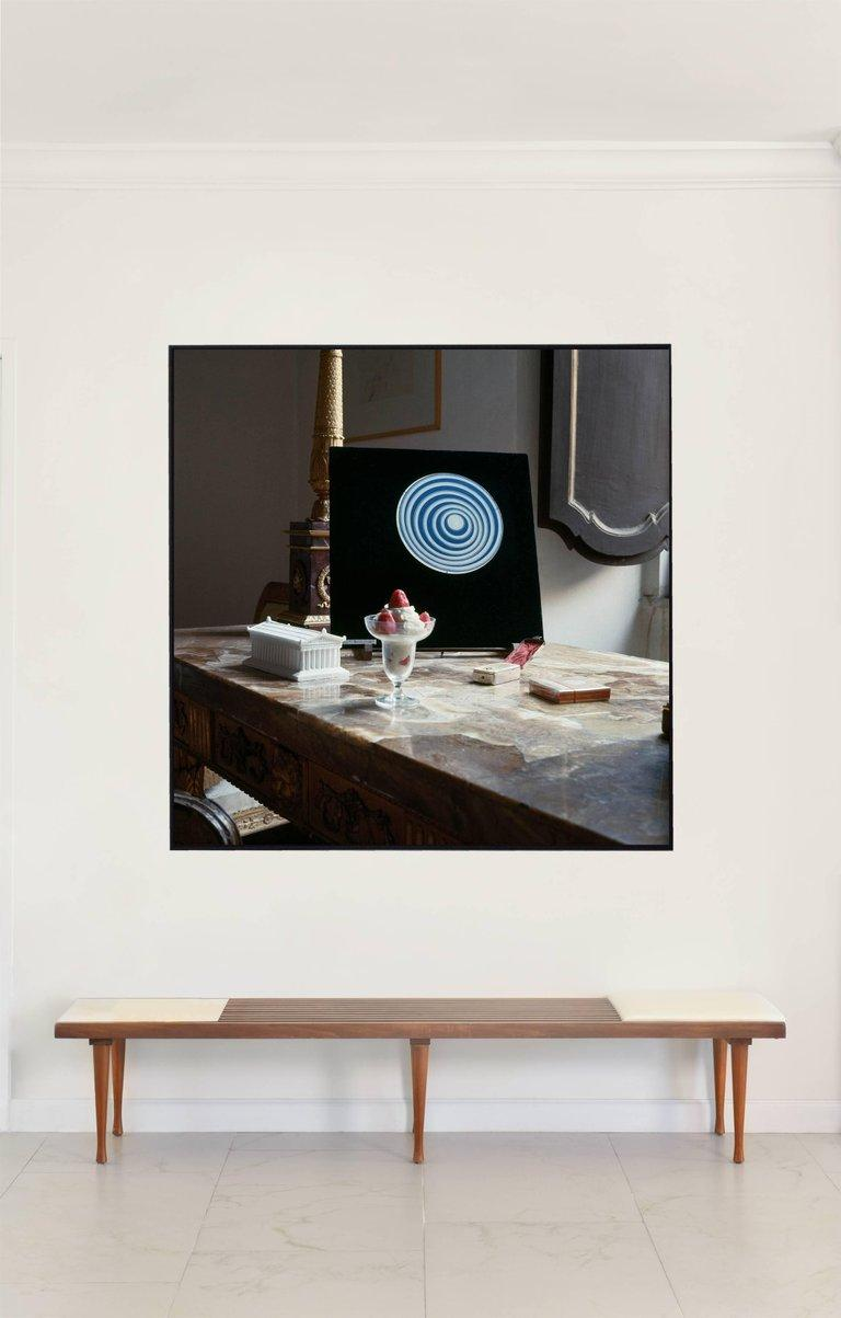 Horst P. Horst Color Photograph - Cy Twombly in Rome - 1966, Untitled #8, Canvas