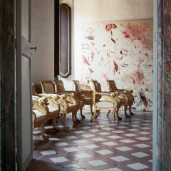 Cy Twombly in Rome - Untitled #19, Large Canvas