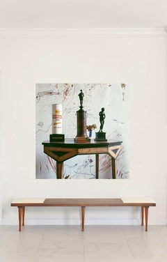 Cy Twombly in Rome - Untitled #21, Large canvas