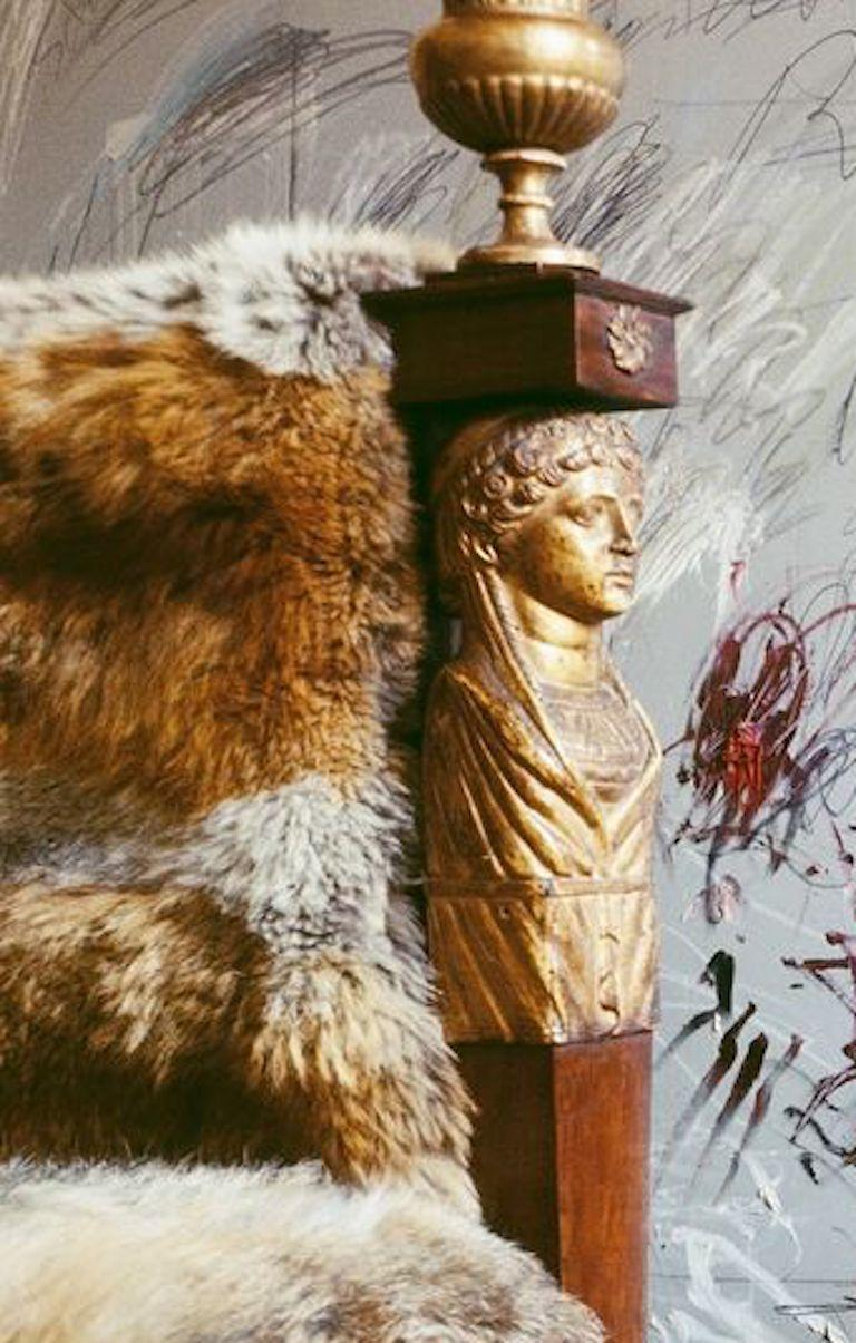 Cy Twombly in Rome - Untitled #26, Extra Large Archival Pigment Print - Contemporary Photograph by Horst P. Horst