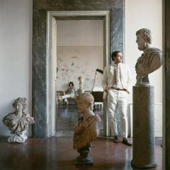 Cy Twombly in Rome - Untitled #9, Small Archival Pigment Print