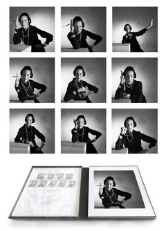 Diana Vreeland Portfolio- 9 archival pigment prints matted in embossed box