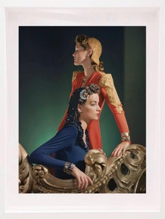 Fashion in Color - Ensembles by Nettie Rosenstein, 1940 (Mounted & Framed)