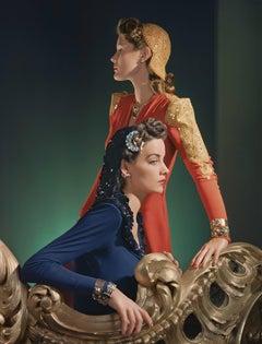Ensembles by Nettie Rosenstein, Jewelry by Tiffany and Co, Medium Print