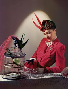 Fashion in Colour -Ensemble by Bergdorf Goodman, Jewelry by Cartier, Large Size