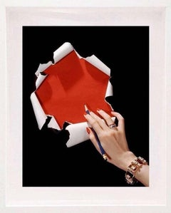 Fashion in Colour -Jewelry by Cartier, American Vogue Cover (Mounted & Framed)