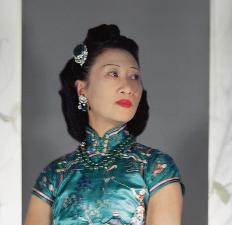 Fashion in Color - Madame Wellington Koo, NYC, 1943 - Photograph by Horst P. Horst
