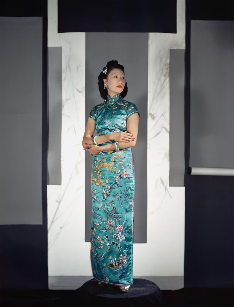 Horst P. Horst Portrait Photograph - Fashion in Color - Madame Wellington Koo, NYC, 1943