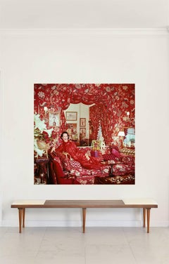 Portraits - Diana Vreeland, New York, 1979, Mounted on Aluminum