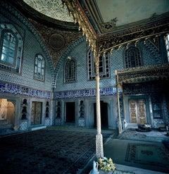 Istanbul - The Throne Room, Topkapı Palace, 1954, Color Photograph