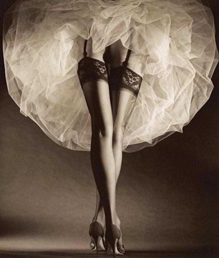Horst P. Horst Black and White Photograph - Round the Clock