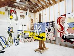 Roy Lichtenstein, New York, 1977 (Lichtenstein Studio, Southampton)
