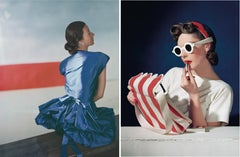 Set of two Horst P. Horst late prints, from the series Fashion in Colour