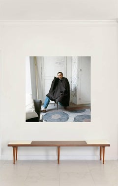 Untitled #20 Cy Twombly in Rome, Extra Large Color Portrait Photograph