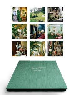 Yves Saint Laurent, 1983 Portfolio, 9 matted pigment prints in embossed box