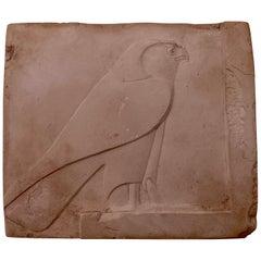 Horus Falcon Metropolitan Museum Art Casting Replica Egyptian Wall Tile