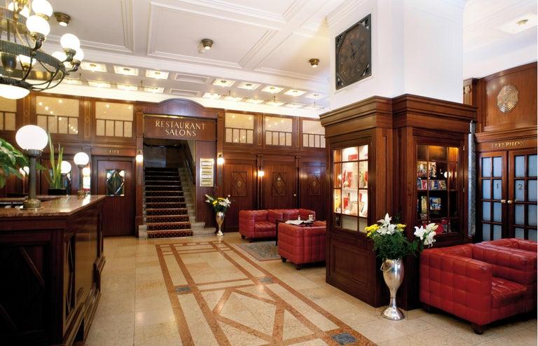 Austrian Hotel Astoria Vienna Jugendstil Table Lamp - Re-Edition  For Sale