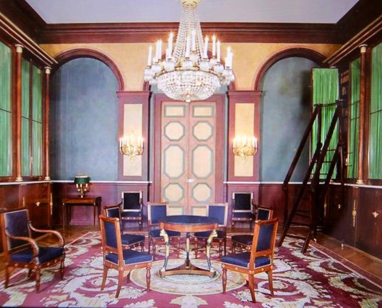 French Hotel Beauharnais Empire Guéridon, Paris, 19th Century For Sale