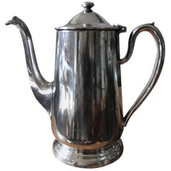Hotel Silver Coffee Pot Pitcher