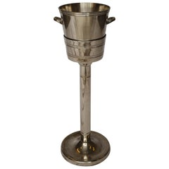 Hotel Silver French Champagne Bucket with Stand