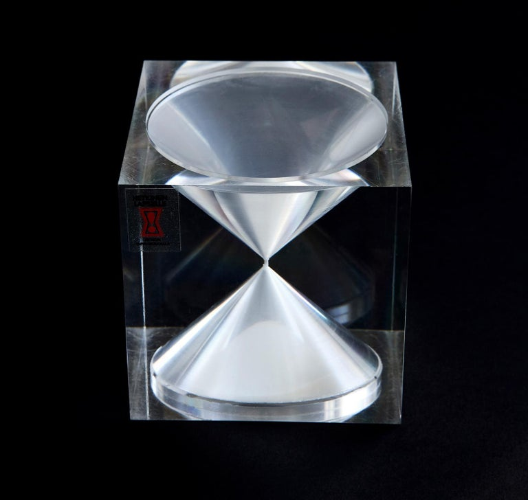 Scandinavian Modern Hourglass by Tapio Wirkkala For Sale