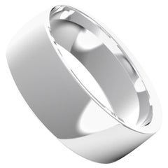 Angélique 18K Gold / Platinum Bold Ring, Wedding Band by House New York