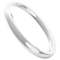 Angélique 18K Gold / Platinum Medium Ring, Wedding Band by House New York