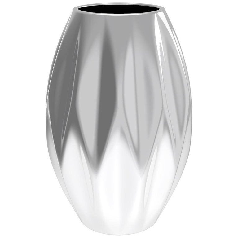 Corall i Eriçó Sterling silver Candle Holder Nº2 by House New York, Limited Edit For Sale