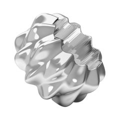 Corall i Eriçó Sterling Silver Napkin Ring Nº2 by House New York, Limited Edit.