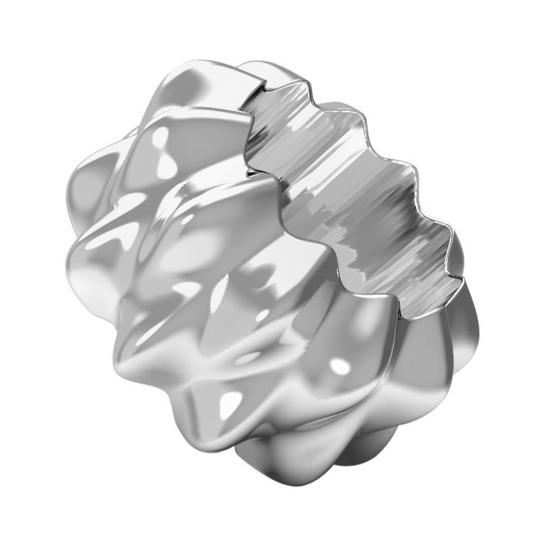 Corall i Eriçó Sterling Silver Napkin Ring Nº2 by House New York, Limited Edit. For Sale
