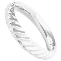 Cresta 18K Gold / Platinum Ring, Wedding Band by House New York, Limited Edit.