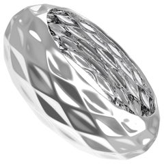 Diamant du Musée Sterling Silver Semi-Bold Bangle by House New York, Limited Ed.