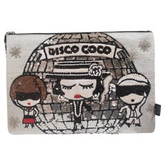 House of Muamua disco Coco zip pochette