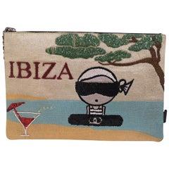 House of muamua Karl in Ibiza zip pochette